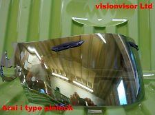 Pinlock Arai i Type SAi Gold Mirror Visor Shield RR5 RX-Q Chaser V Corsair V