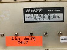 Rf Power Amplifier Wessex Electronics