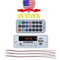 MP3 Wireless Decoder Board LCD USB TF SD Audio Module DC 5V FM Radio Kit