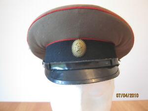 Original Soviet Military Issue Visor Hat Size 58 NEW