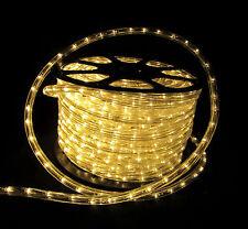 "Flexilight® Wide Loyal 150Ft LED Rope Light 120V 2-Wire 1/2"" Warm White 3000K"