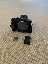 GREAT CONDITION Sony Alpha a7R II 42.4MP (Body Only) 64 GB Card + Mounting Plate