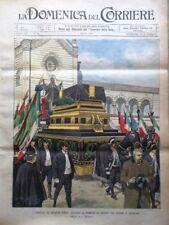 La Domenica del Corriere 3 Marzo 1901 Giuseppe Verdi Westminster Pechino Cina
