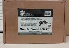SIIG Quartet Serial 850 PCI (JJ-P04011-S6)