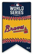 Atlanta Braves Bannière Broche 2021 MLB World Série Majeur League Baseball Métal