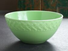 Zak Design Melamine Melmac Jadeite Jadite Green Kitchen Mixing Bowl Woven Border