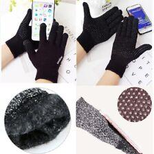 Knitted Women Men Warm Touch Screen Winter Gloves Warmer Mobile Phone Non-slip