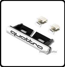 Audi Quattro Grill Badge Emblem TT A3 S3 A4 S4 A5 S5 A6 S6 S6 A8 Q7 S Line 17