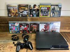 Sony Playstation 3 Slim 160gb Mega Bundle 7 Spiele! einbaufertig plug & play