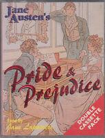 Jane Austen Pride & Prejudice 2 Cassette Audio Book Abridged Jane Lapotaire