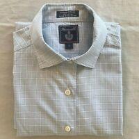 Falconnable men's long sleeve button-down dress shirt, size Large