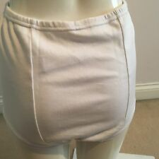 Vintage Schoolgirl Gym Knickers, Netball Panties Briefs White