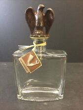New listing New Jan Barboglio Hand Forged Metal Eagle Bottle Stopper Top Decanter