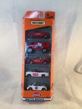 Matchbox Cars Coca-Cola Mattel Wheels 5 Pack Gift Set