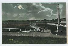 Night Scene, Plains of Abraham QUEBEC CITY QC Vintage Canada Postcard
