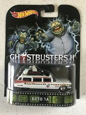 Hot Wheels Retro Entertainment Ghostbusters II ECTO-1 Slimes Version