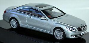 Mercedes Benz CL Class C 216 Coupe 2006-10 Iridum Silver Metallic 1:43 Autoart