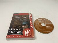Sherlock Holmes   the mystery of the mummy Pc game hidden object - Tested