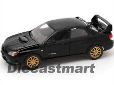 SUBARU IMPREZA WRX STi 1:24 DIECAST MODEL CAR BY MOTORMAX 73330 NEW BLACK