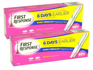4 First Response Early Result Pregnancy Test 2 Packs of 2. FREE SAME DAY POST
