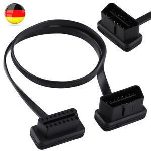 OBD 2 II Verlängerung Kabel 16 Pin Diagnose Interface Adapter Stecker Buchse DE