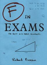 F in Exams: The Best Test Paper Blunders-Richard Benson