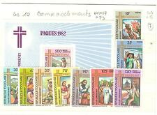 TOGO TIMBRES NEUFS ** THEME PAQUES RELIGION PAPES ECT.. COTE € 13