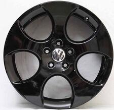 18 inch Genuine VW GOLF GTI MARK VI DETRIOT ALLOY  WHEELS IN CUSTOM GLOS  BLACK