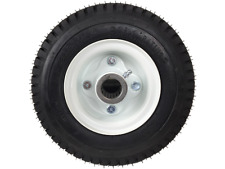 Two  9x350X4 Dual VelkeTire and Wheel assemblies pnuematic vkxwheel