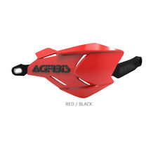 Acerbis X-Factory MX Motocross Handguards w/Universal Fitting Kit - Red/Black