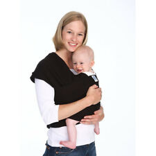 f078381a3ca Baby Wrap Baby Wearing Black Cotton Moby Wrap Baby Carrier High Quality  Sling US