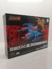BANDAI SOUL OF CHOGOKIN GX 76 X 2 UFO ROBOT GRENDIZER DRILL & MARINE SPAZER SET