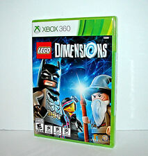 LEGO Dimensions (Microsoft Xbox 360) - REPLACEMENT GAME ONLY - FREE SHIPPING NEW