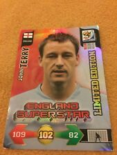 FREEPOST PANINI ADRENAYLN WORLD CUP 2010 TERRY LIMITED EDITION FOOTBALL CARD 10