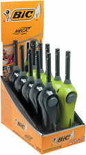 8 ACCENDI GAS BARBECUE ACCENDIGAS BIC MEGALIGHTER  LIGHTER