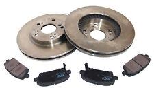 For Honda Civic MK8 German Quality 2x Front Brake Discs Bearing Brake Pads Kit