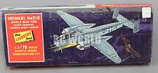 Vintage Lindberg 1/72  HEINKEL HE219  Model Airplane  Kit -NEW-  #RK2