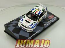 RMIT41F 1/43 Ixo Rallye Montar Carlo 2000 : Toyota Corolla WRC P.Zanchi
