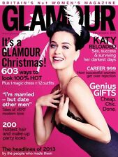 GLAMOUR UK December 2013,Katy Perry NEW