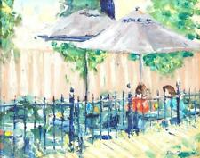 5TH AVE. PATIO BY DAVE TERRY (OHIO, 2ND HALF-20TH CENTURY). Lot 375