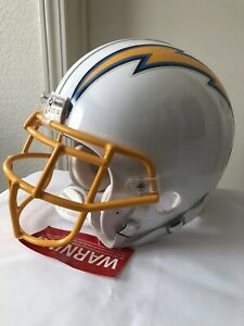 NEW San Diego Los Angeles Chargers Full Size Large Riddell VSR-4 Football Helmet