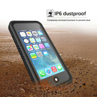 For iPod Touch 7 6 5 Waterproof Case Built-in Screen Protector Anti-fall Cover