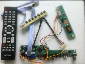T.VST56 LCD Driver Controller Board for B101AW03 TV+HDMI+VGA+CVBS+USB