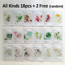 Korea Cosmetics INNISFREE All 18pcs + 2 free My Real Squeeze Mask Sheet 20ml
