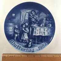 1982 MOTHER'S DAY BAREUTHER LIMITED EDITION MOTHER'S PLATE BAVARIA GERMANY