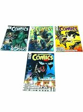 VF-NM 1993 Dark Horse Comics #11-#14 Lot Godzilla, Predator, Aliens, James Bond