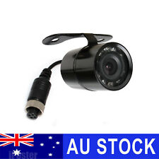 4 PIN Mini Car Caravan SUV Trailer Rear View Reversing Camera 9 IR Night Vision