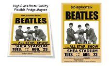 "The Beatles 1966 Shea Stadium Concert Poster 3""X4"" FRIDGE MAGNET"