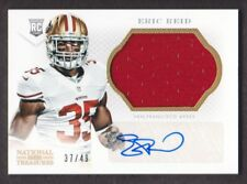 2013 National Treasures Rookie Patch Auto Gold #279 Eric Reid 37/49 49ers