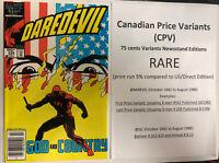 Daredevil (1986) # 232 (NM) Canadian Price Variant (CPV)  !! 1st App Nuke !